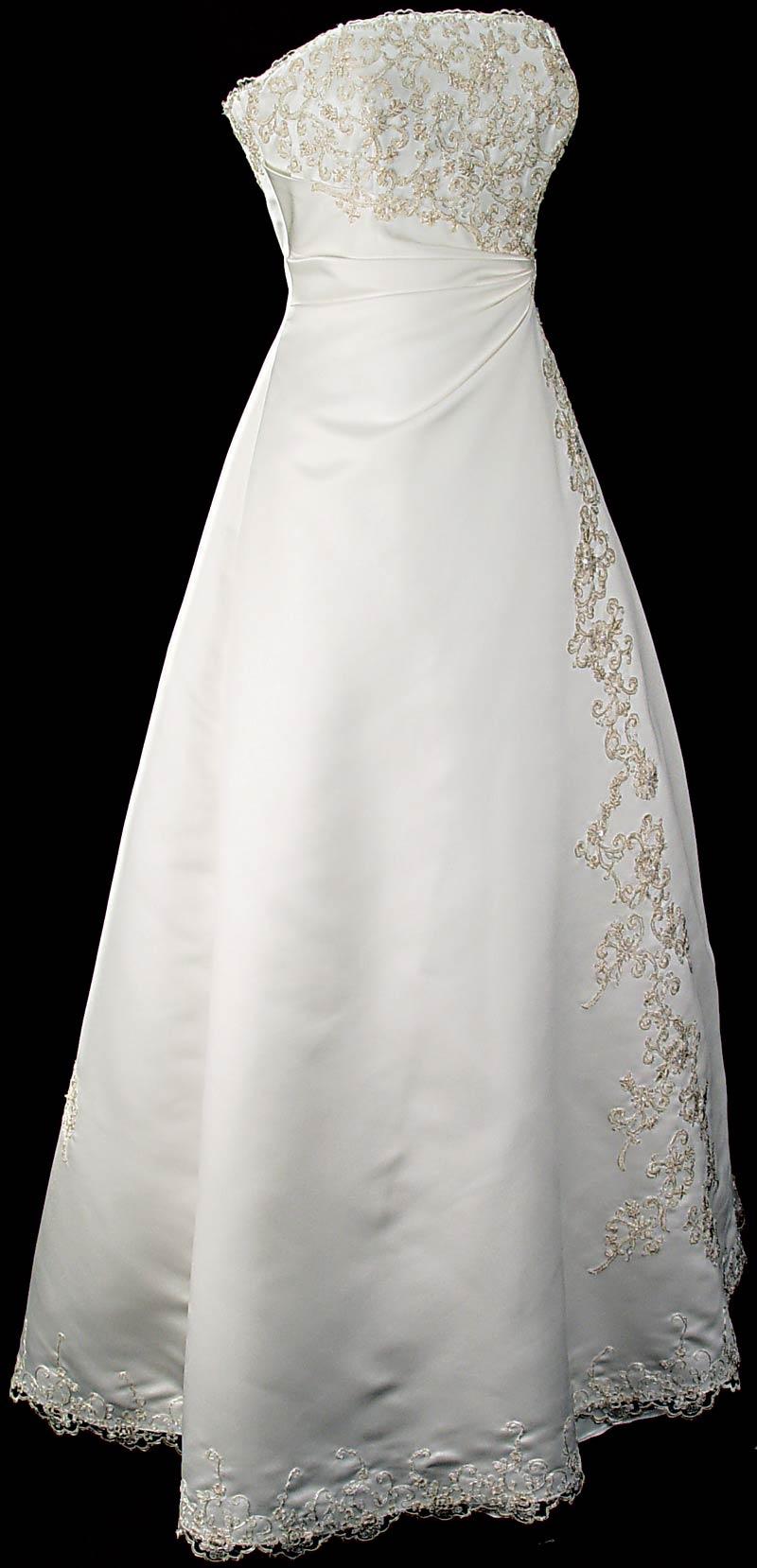 فستان مزخرف رقيق