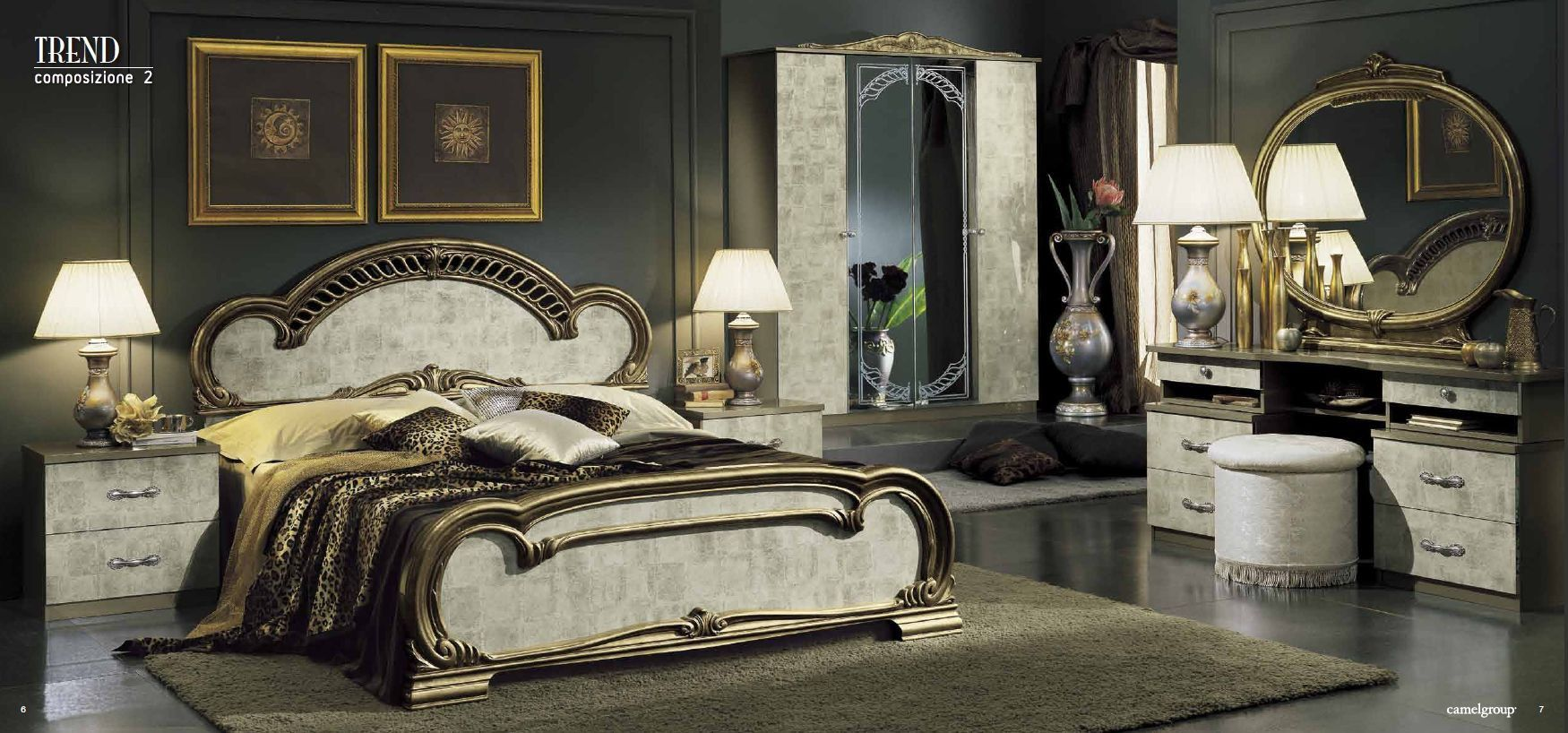 بالصور غرف النوم ايطالية فاخرة , غرف نوم تجنن 7128 3