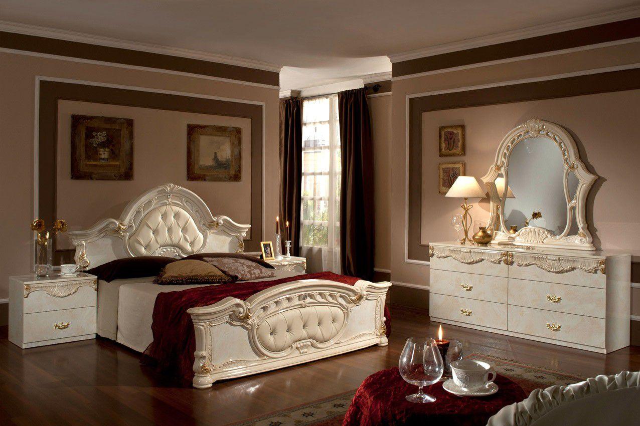 صوره غرف النوم ايطالية فاخرة , غرف نوم تجنن