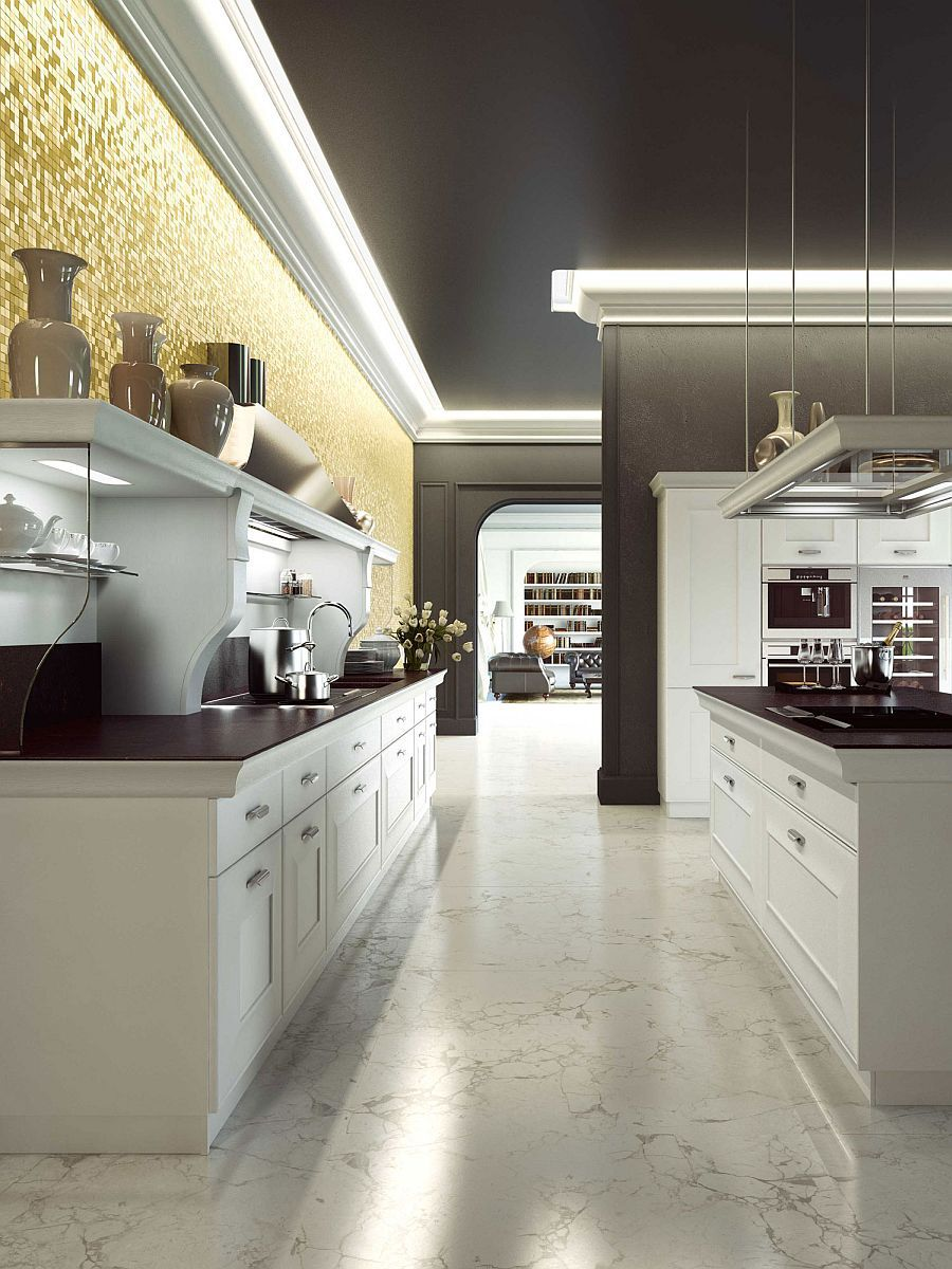 بالصور مطابخ امريكيه , حلم كل امراة تحب التميز والفخامة في مطبخها 7138 7
