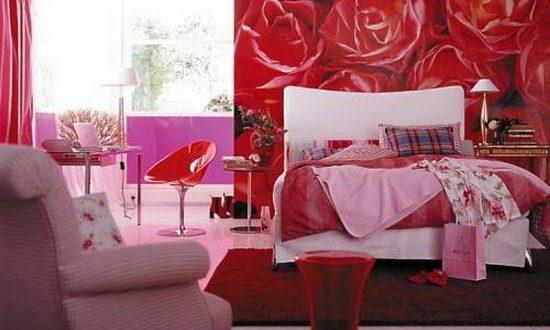 صوره غرف نوم رومانسية , غرف نوم خلابه