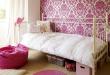 صور غرف نوم بنات الوان غامقة و فاتحة , غرف نوم فتيات بسيطة