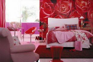 صورة غرف نوم رومانسية خلابة , غرف للنوم خرافية