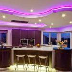 احدث اضاءات ال led للمنازل , انوار مضيئه بشكل خيالي