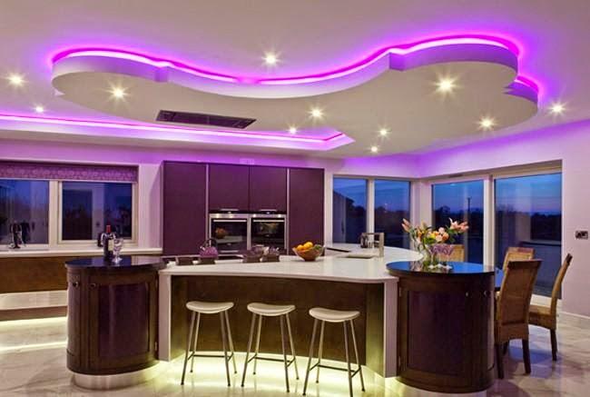 صوره احدث اضاءات ال led للمنازل , انوار مضيئه بشكل خيالي