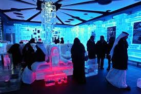 صوره مطعم من الثلج في دبي, اجمل مطععم من الثلج