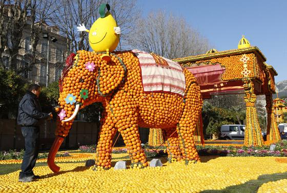 بالصور مهرجان الليمون في فرنسا , صور مهرجان الليمون 994 6
