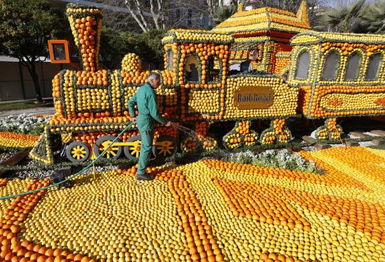 بالصور مهرجان الليمون في فرنسا , صور مهرجان الليمون 994 7