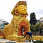 مهرجان الليمون في فرنسا , صور مهرجان الليمون