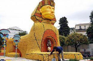 صورة مهرجان الليمون في فرنسا , صور مهرجان الليمون