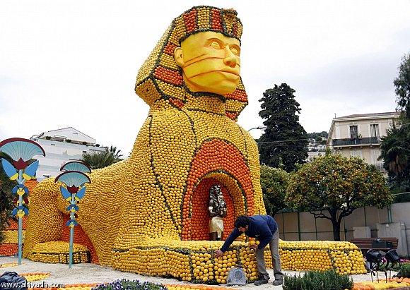 صوره مهرجان الليمون في فرنسا , صور مهرجان الليمون