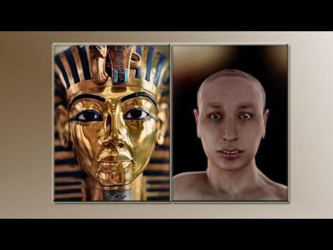 صورة فرعون بعد الترميم , شكل فرعون بعد الترميم - صوري