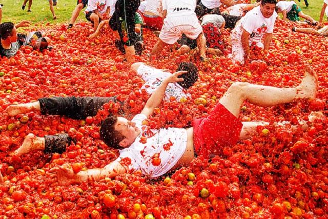صوره مهرجان الطماطم في اسبانيا    ,    اجمل الصور لمهرجان البندوره