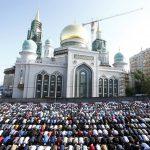 صلاة العيد في موسكو , مسلمو روسيا وصلاة العيد فى المسجد الجامع فى موسكو