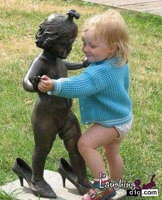 بالصور صور مضحكة عن الاطفال , وفنون البراءة 2054 9