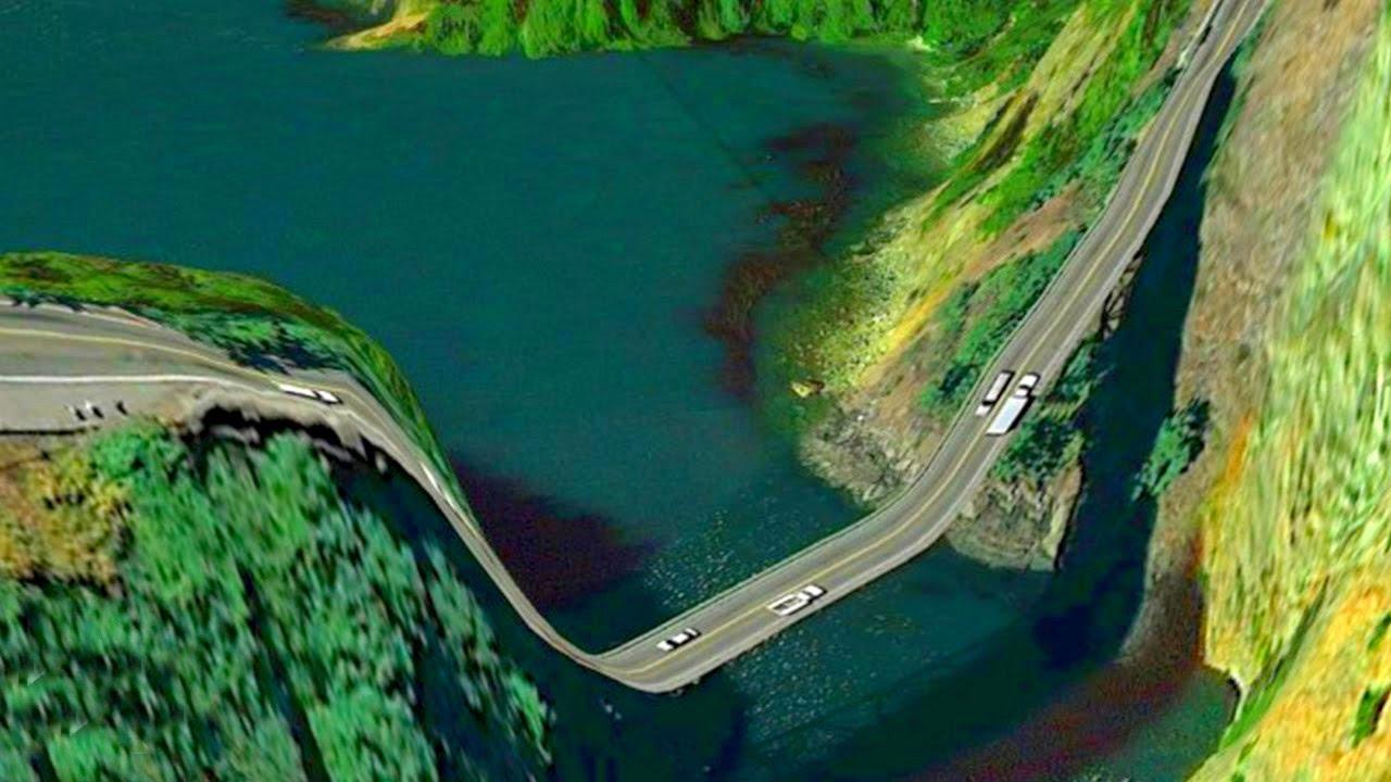 بالصور من اخطر الطرق في العالم , غريبة ومرعبة 2069 4