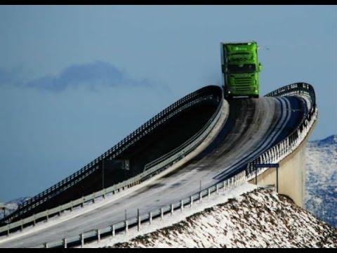 صور من اخطر الطرق في العالم , غريبة ومرعبة