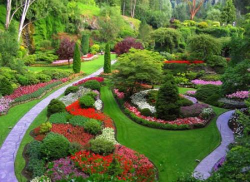 صوره صور حدائق جميله , روعة التصميم والتنسيق