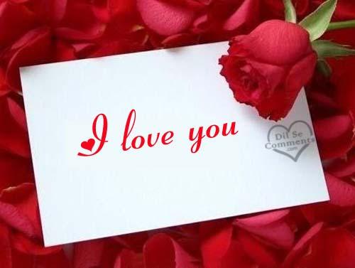 بالصور بحبك i love you , صور مكتوب عليها انا بحبك 3268 8