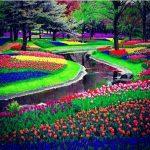 حديقة كيوكينهوف هولندا , صور من الخيال الطبيعي الساحر