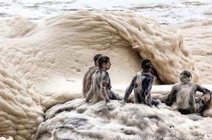 صوره صور شاطئ الكابتشينو , من غرائب وعجايب الطبيعة