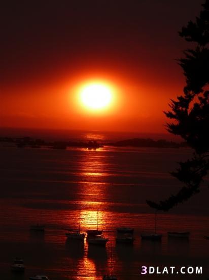 صورة اجمل مناظر الغروب , صور للطبيعة الساحرة
