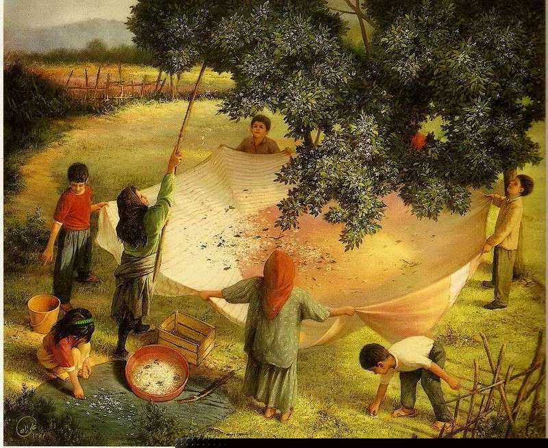 صوره فن الرسم الايراني , صور قمة في الروعة