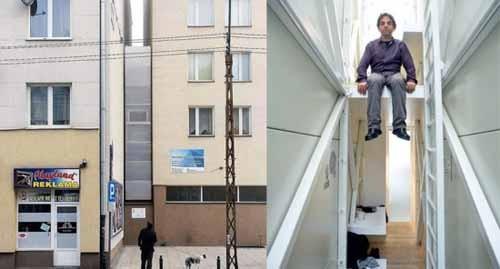 صوره اصغر منزل في العالم , يكفي لشخص واحد