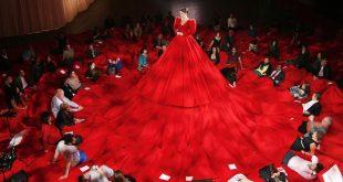 اغرب فستان في العالم , يدخل موسعة جنيس