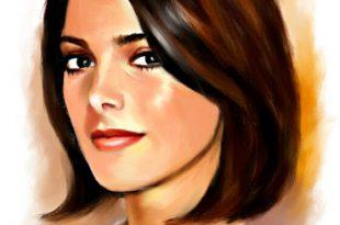 صور فن رسم البورتريه , لصورة الوجه والشخصية