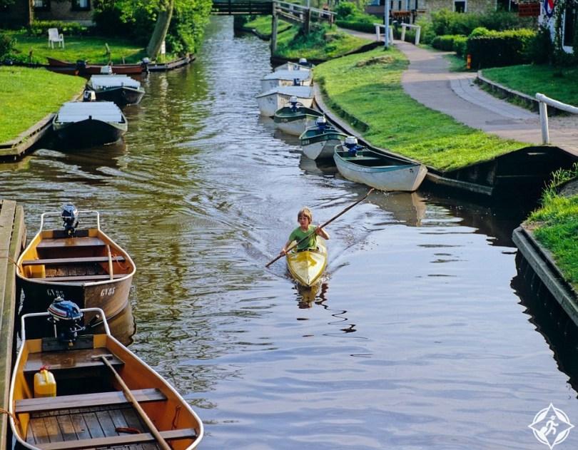 صورة قرية هولندية بلا شوارع , عالم غريب وعجيب