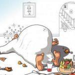 كاريكاتير عن رمضان , صور غريبة ومضحكة