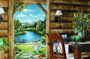 صورة فن رسم 3d على الجدران , احد انواع الفنون الحديثة