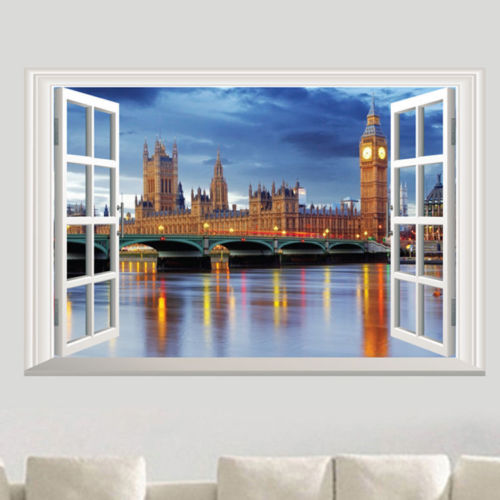 بالصور فن رسم 3d على الجدران , احد انواع الفنون الحديثة 3607 8