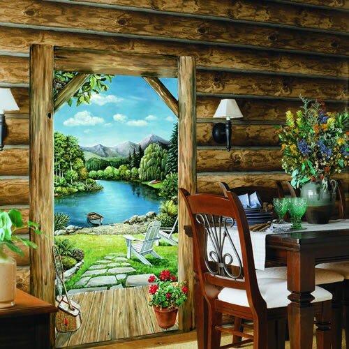 صوره فن رسم 3d على الجدران , احد انواع الفنون الحديثة