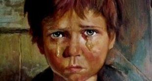 صوره لوحة الطفل الباكي , من اكثر  انتشارا نظرا للبراءة الكامنة
