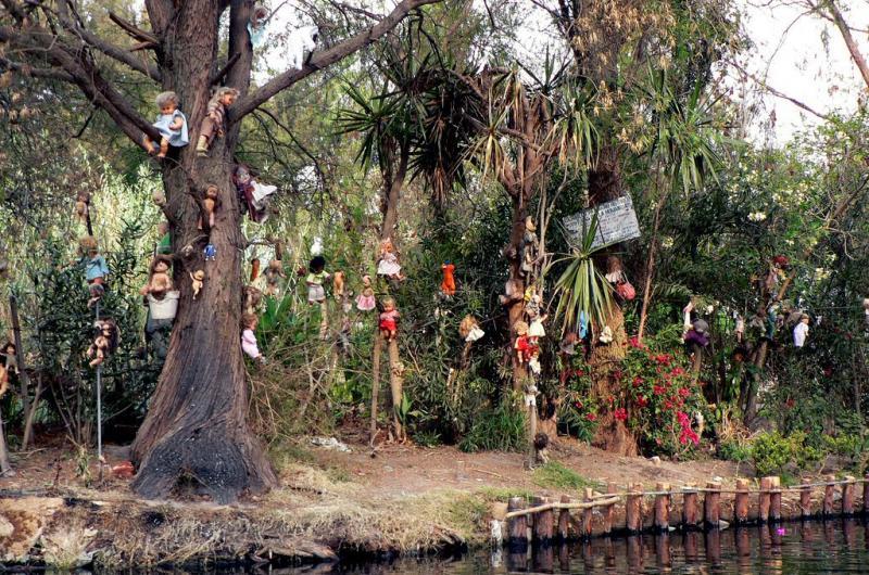 بالصور جزيرة الدمى في المكسيك , احد الجزر La Isla de la Munecas 3671 9