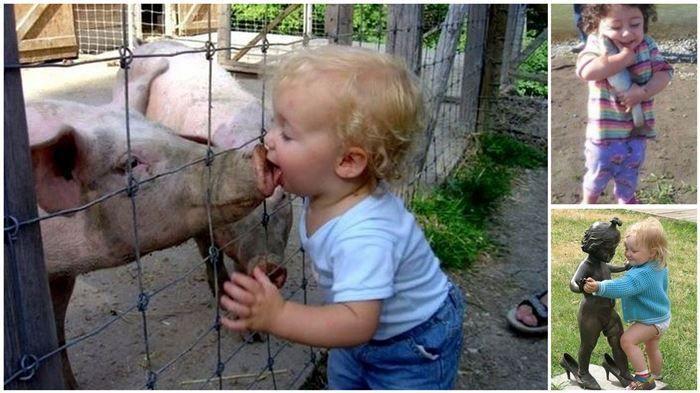 بالصور حركات اطفال مضحكة , اضحك من قلبك مع صور الاطفال 3740 4
