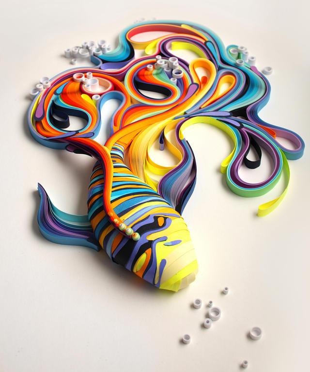 بالصور فن الرسم بالقهوة , من احدث  الفنون الجديده 3781 9