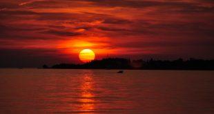 جمال غروب الشمس , من اجمل المناظر الطبيعية