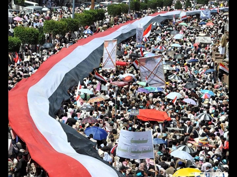 صورة صور من ثورة اليمن , صورة نادره في حكم علي عبد الله صاالح