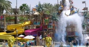 الحديقة المائية في دبي , رحلة جميلة وممتعة الي دبي