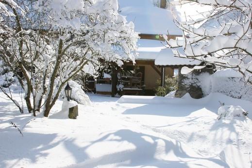 صور بيت من ثلج , اروع المنازل الثلجية