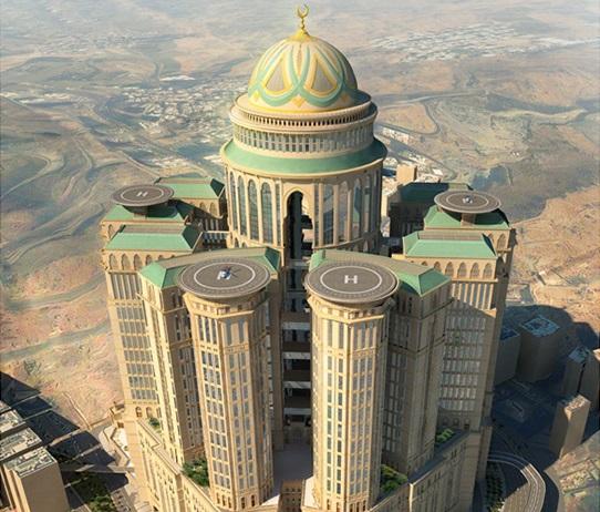 صور صور اكبر فندق في العالم , فى اطهر بقاع الارض
