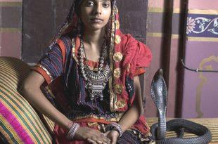 صوره هنديه تتزوج من ثعبان , بعد ان وقعت فى غرامة
