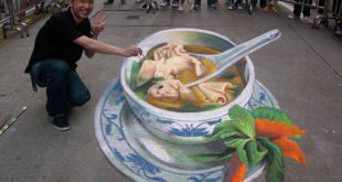 فن رسم الشوارع , ابداع لا مثيل له