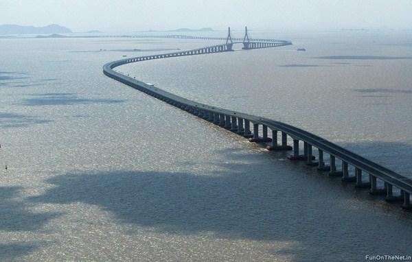 صوره اطول جسر بحري في العالم , روعة و جمال التصميم ستذهلك