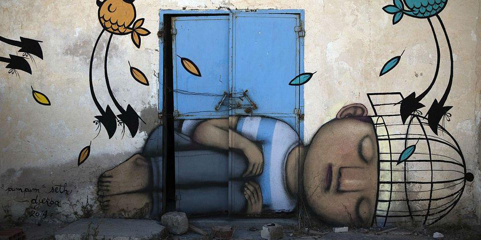 صوره الرسم على الجدران , تصاميم فنانين على جدران الشوارع