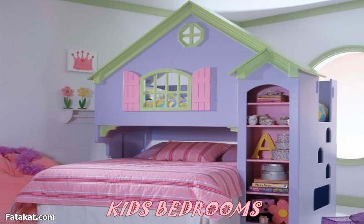 صور افكار غرف نوم اطفال منوعة 2019 , فكرة غرفة طفل للنوم انيقة 2019
