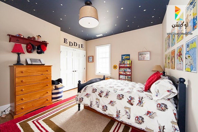 بالصور افكار غرف نوم اطفال منوعة 2019 , فكرة غرفة طفل للنوم انيقة 2019 7868 3